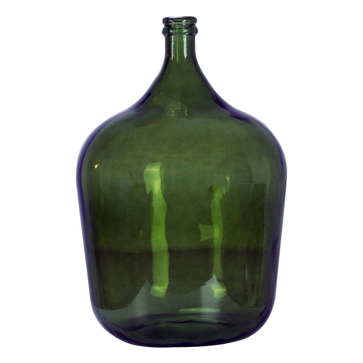 Bonbonne dame jeanne 34L vert