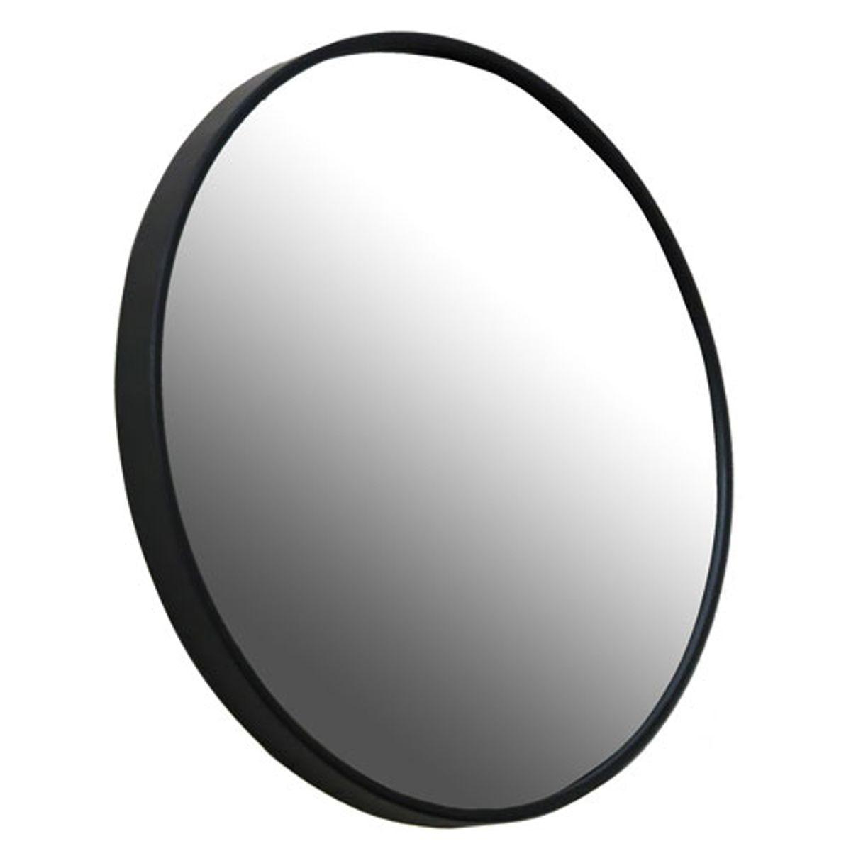 Miroir rond Ø80 noir