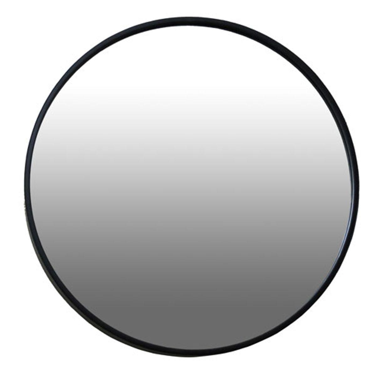 Miroir rond Ø40 noir