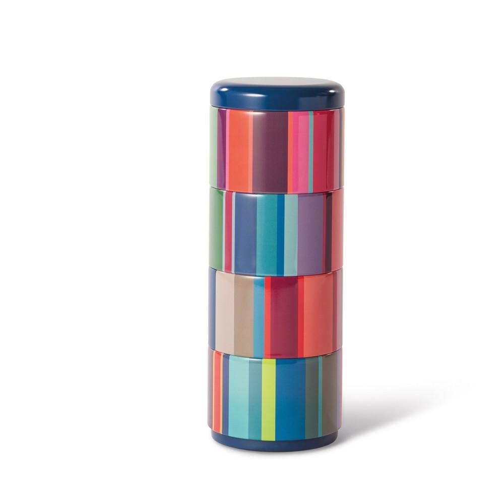 4 boites empilables H22,1cm