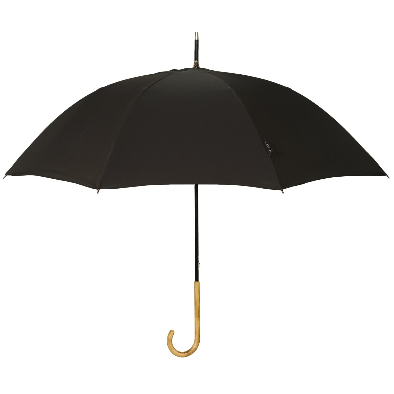 Parapluie en textile recyclé noir