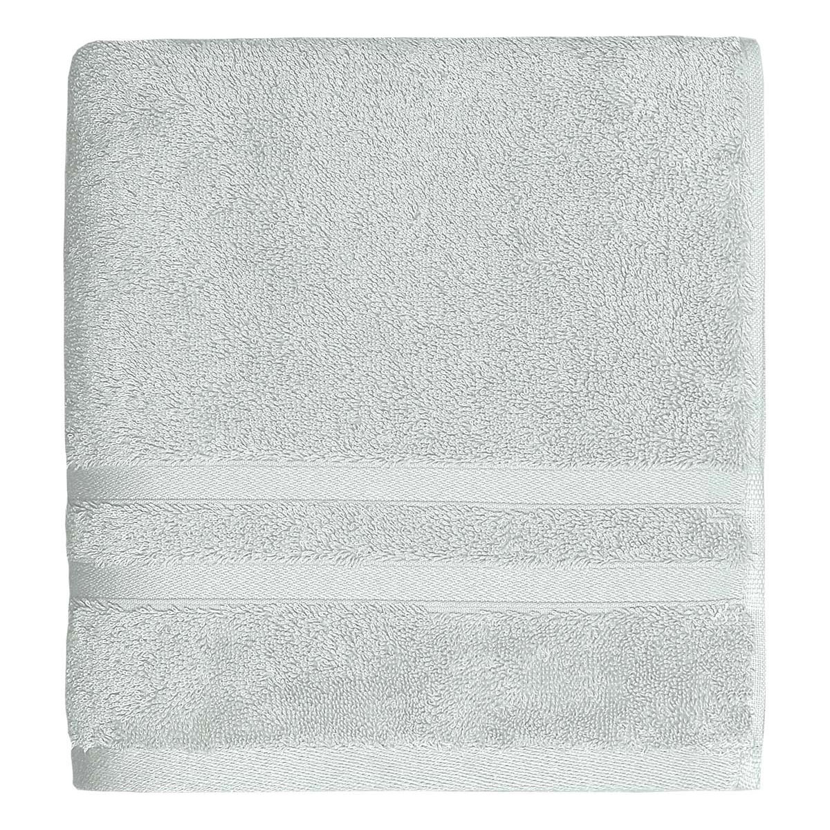 Drap de bain 600gr/m² Gris 70x140 cm