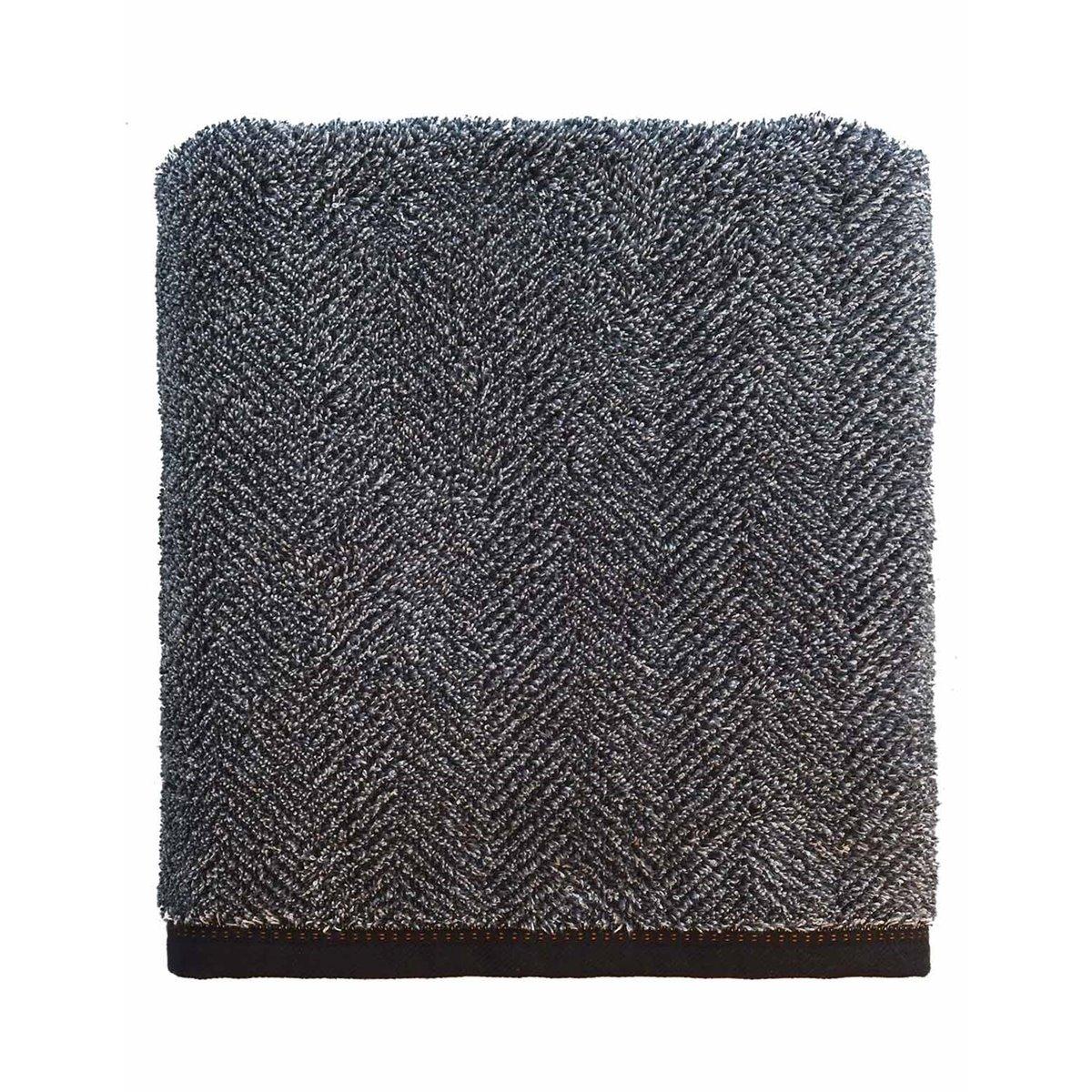Drap de bain 550gr/m²  Carbone 70x140 cm