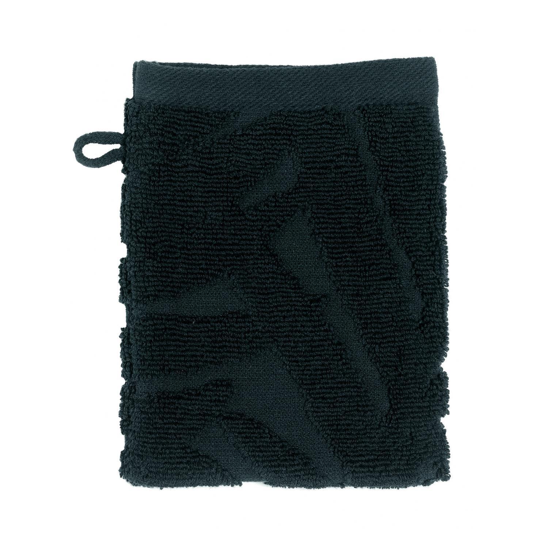 2 gants de toilette  en coton caviar 15 x 21