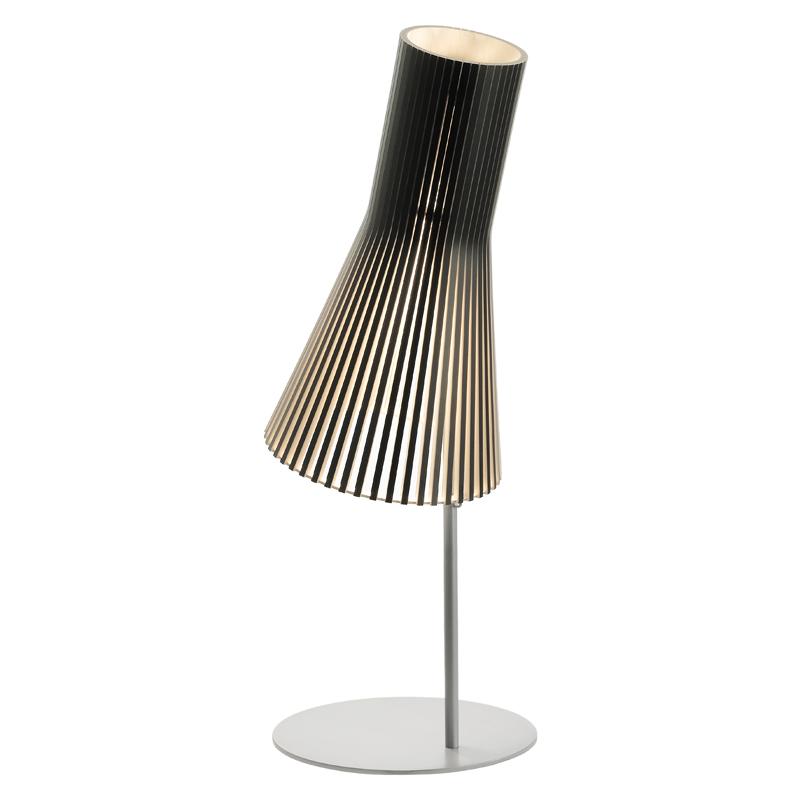 maison du monde Lampe de bureau noire H75cm