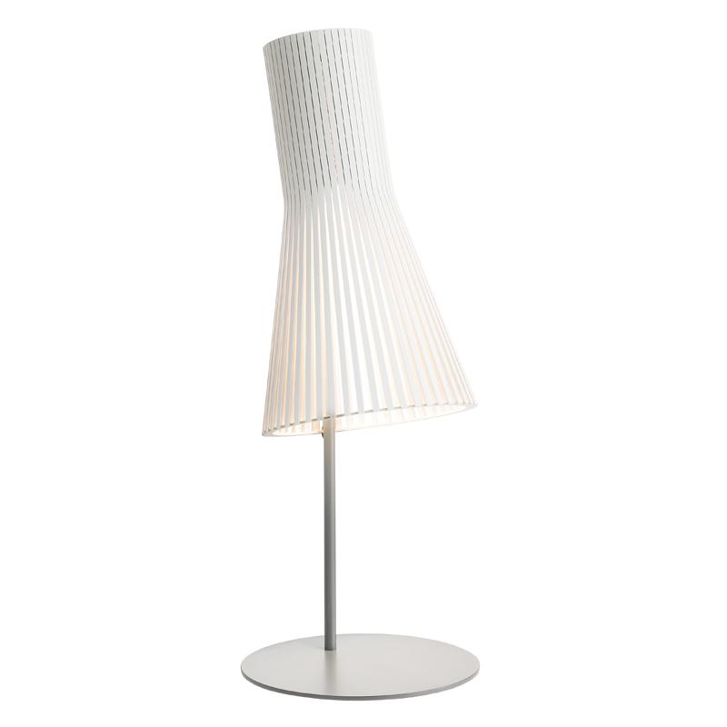 maison du monde Lampe de bureau blanche H75cm