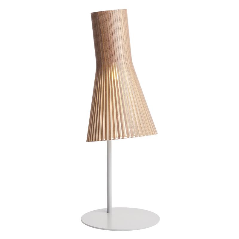 maison du monde Lampe de bureau noyer H75cm