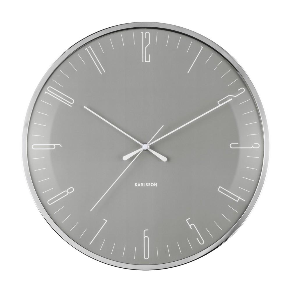 Horloge avec dôme bombé en verre D40