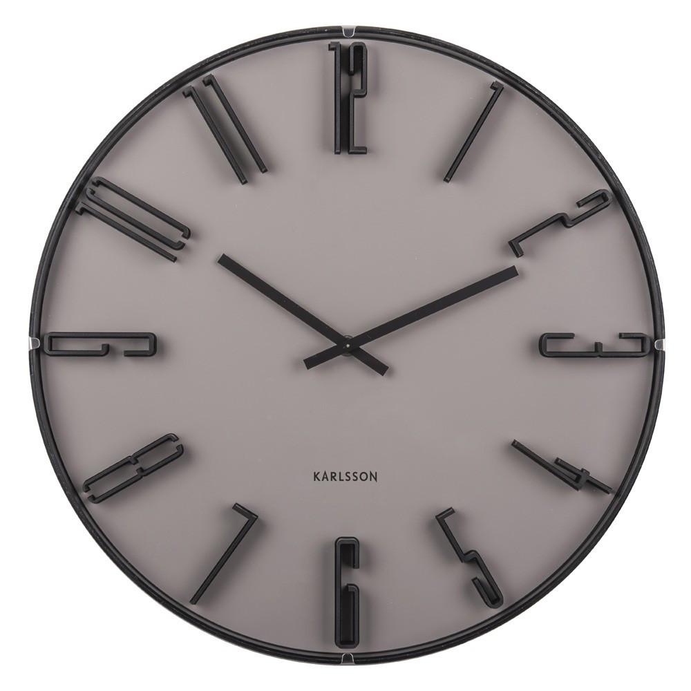 Horloge murale en verre D40