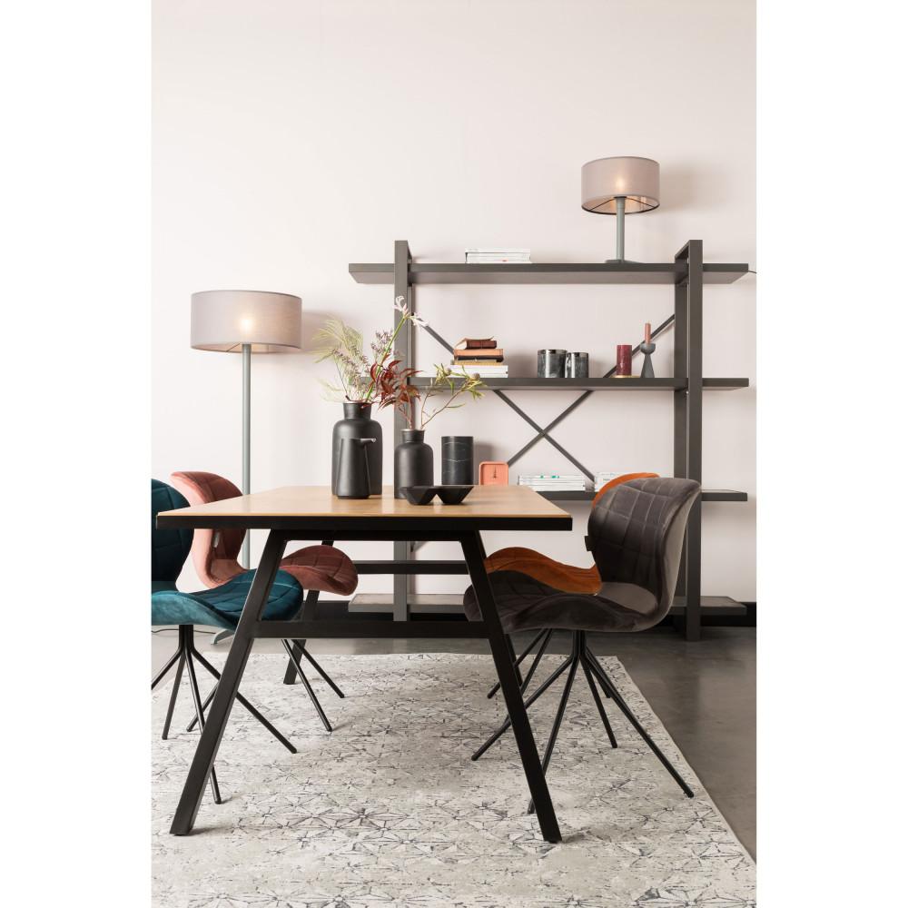 Table à manger en bois 180x90cm chêne
