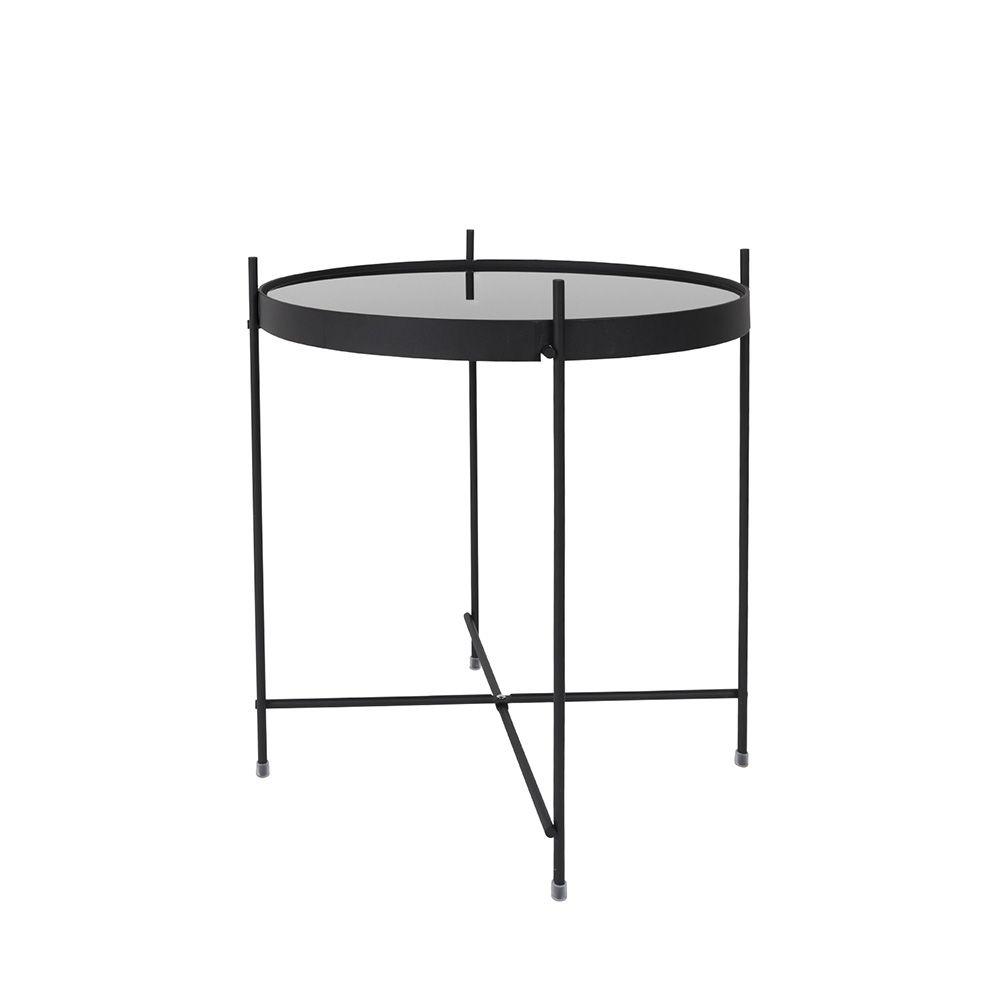 Table basse design ronde en métal
