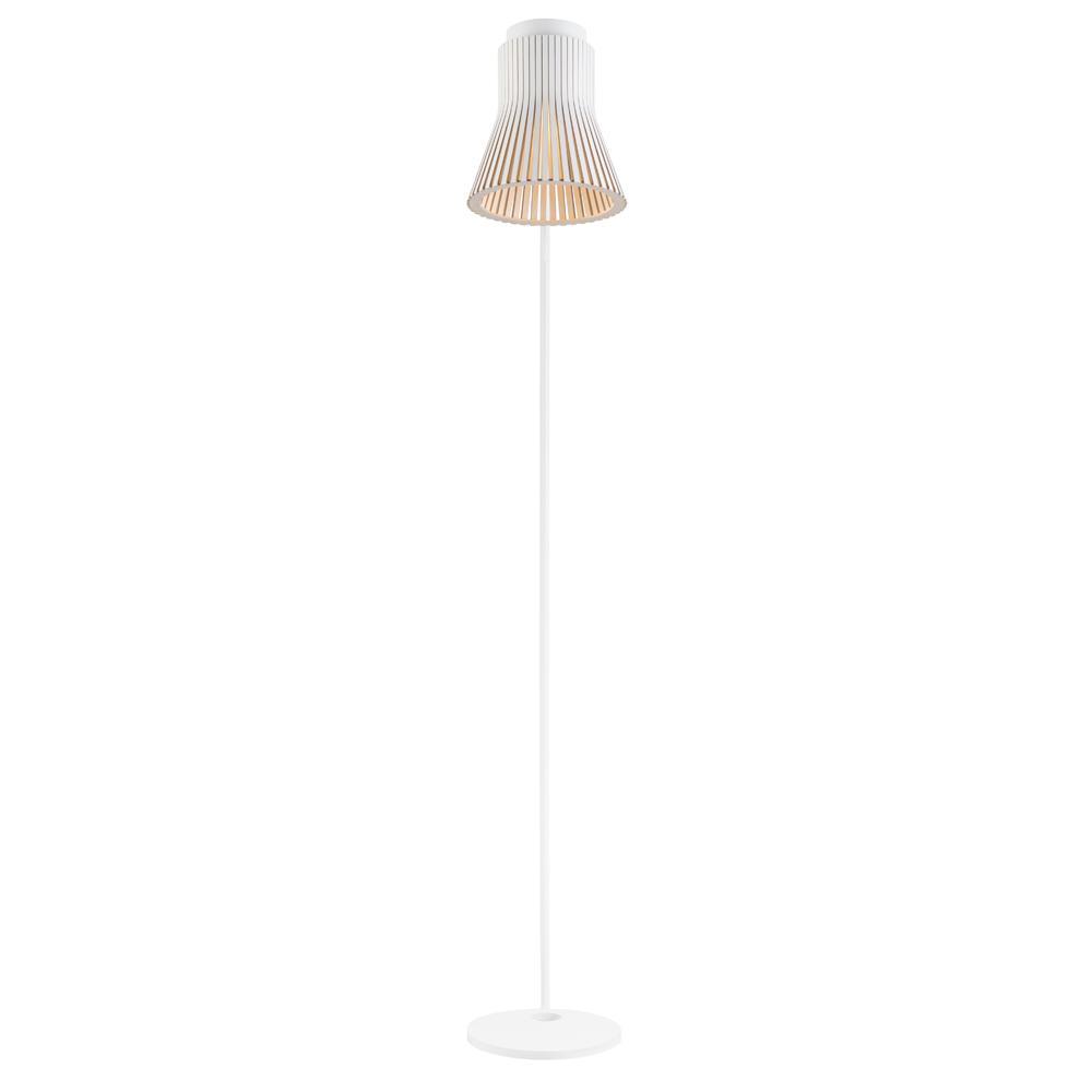 maison du monde Lampadaire design blanc H130cm
