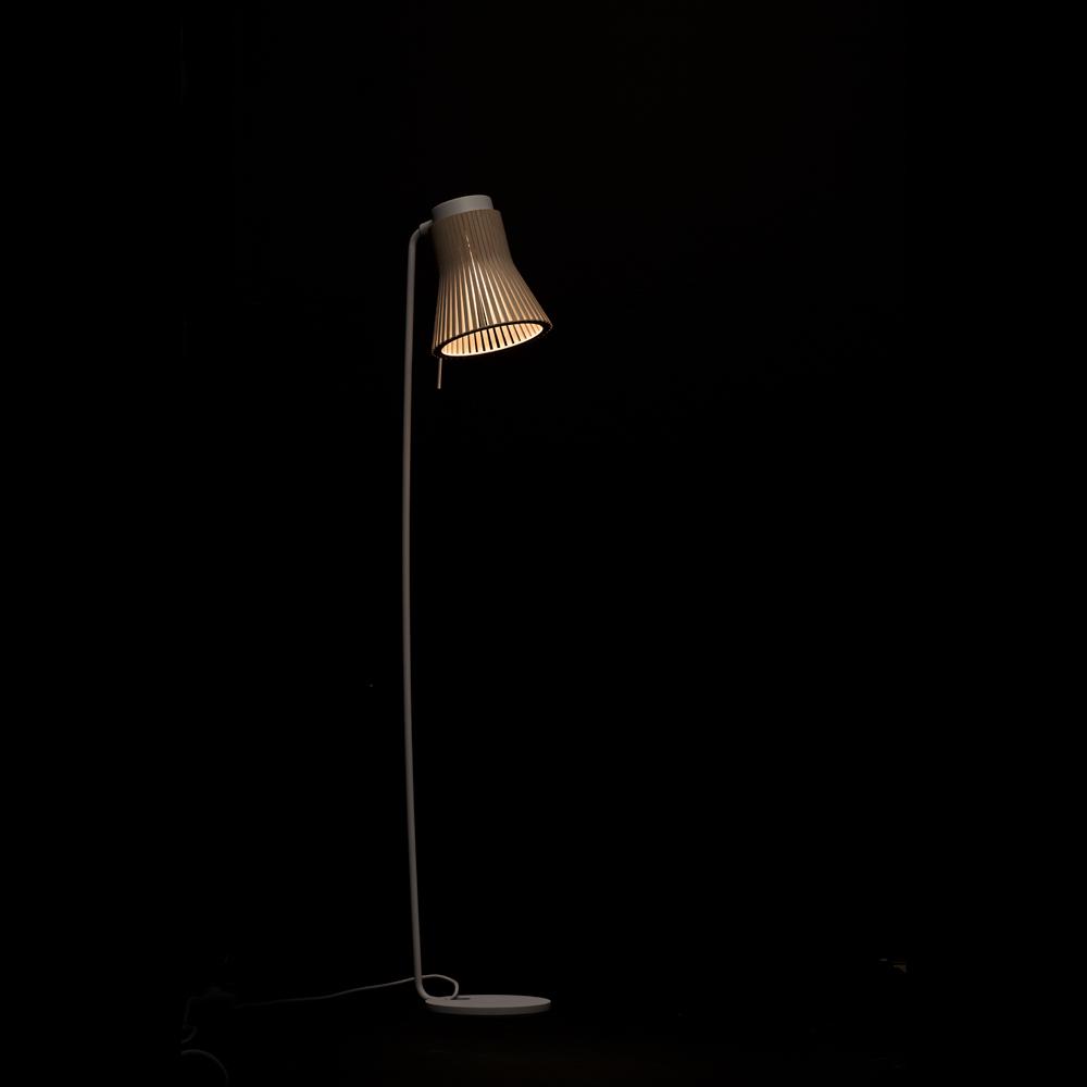 Lampadaire design noir H130cm