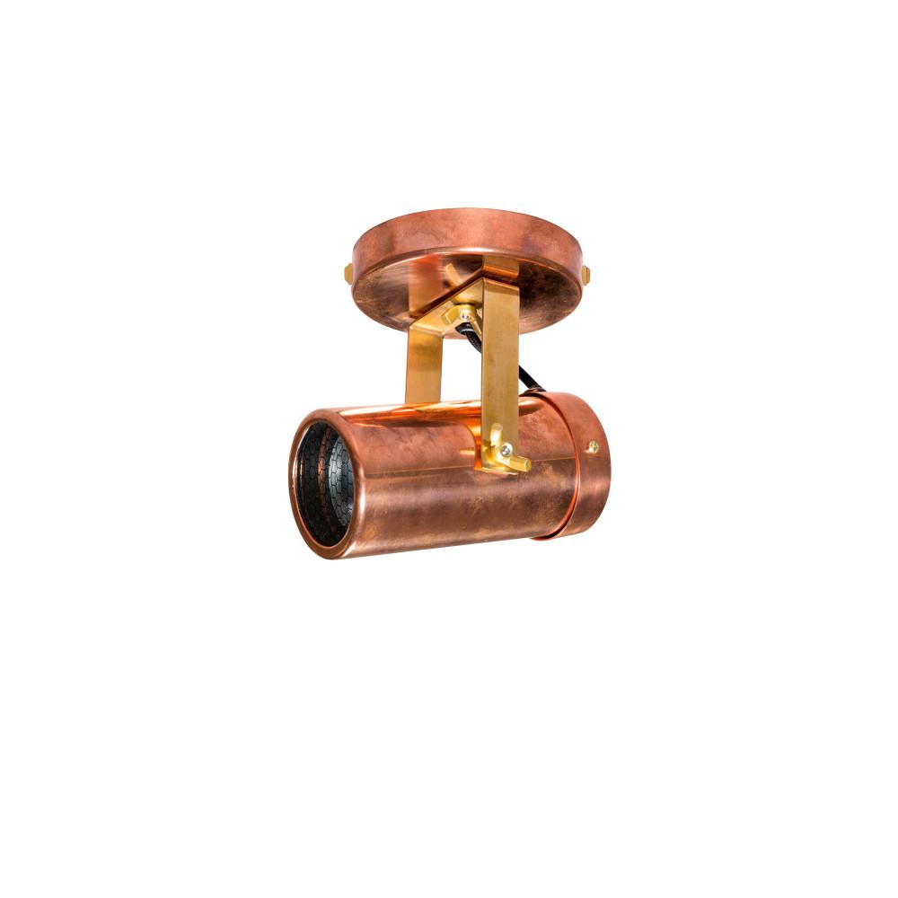 Applique et plafonnier industriel cuivre