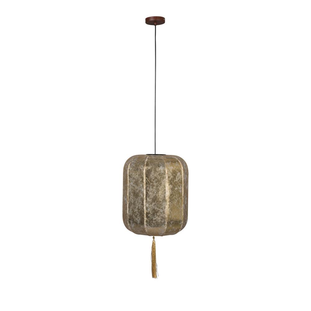 Suspension style lanterne japonaise D40cm or