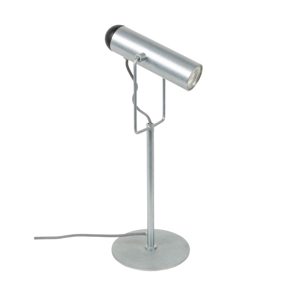 Lampe à poser en métal fer galvanisé
