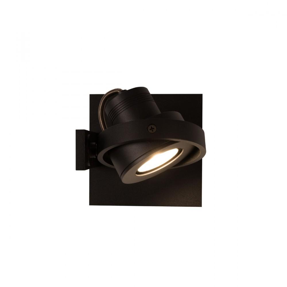 Applique et plafonnier design LED noir