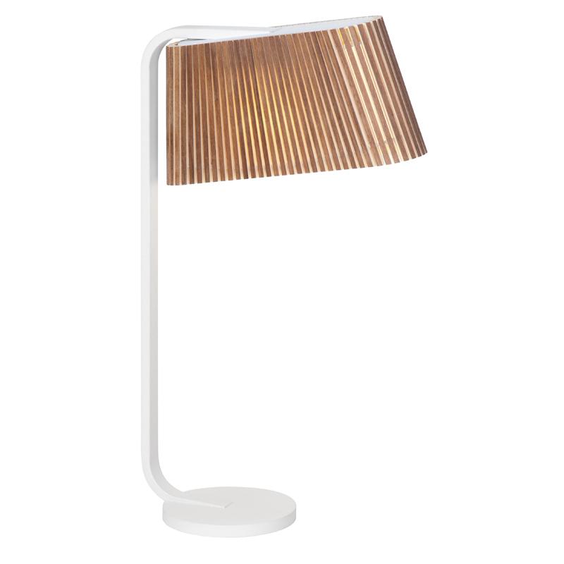 maison du monde Lampe à poser noyer H50cm