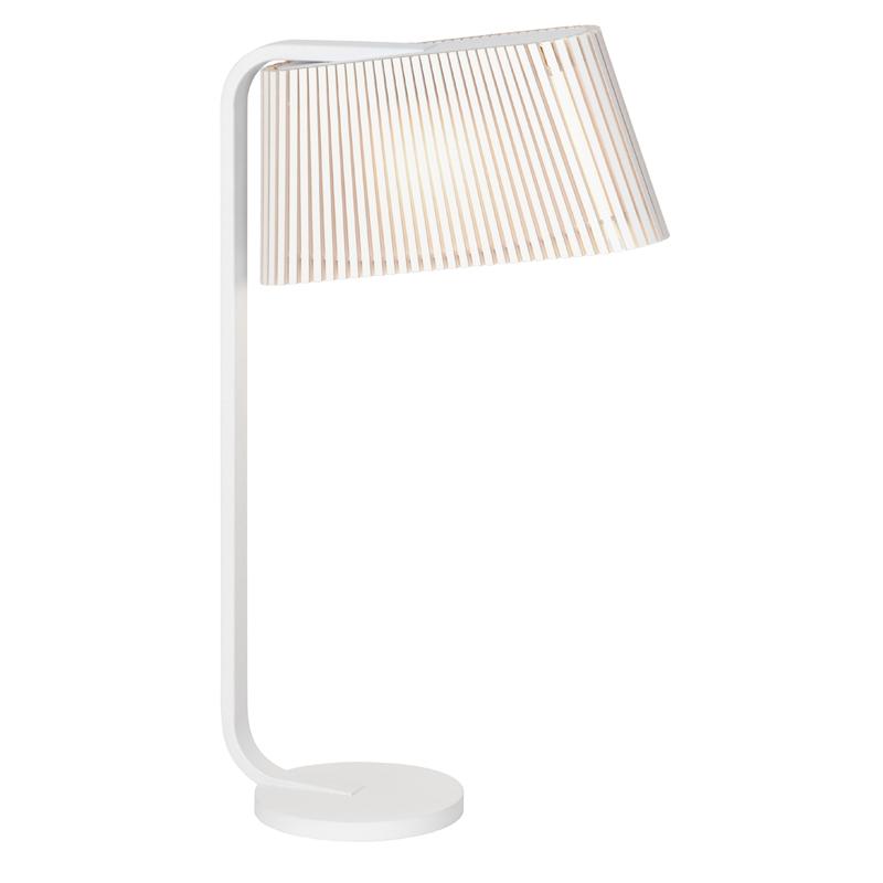 maison du monde Lampe à poser blanche H50cm