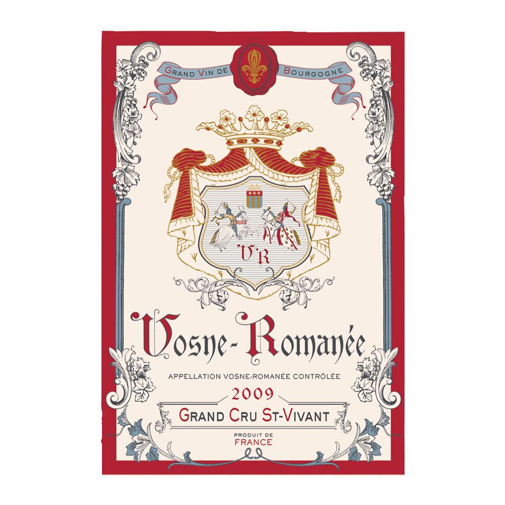 Torchon Imprimé Vosne-romanee en coton ecru 48 x 72