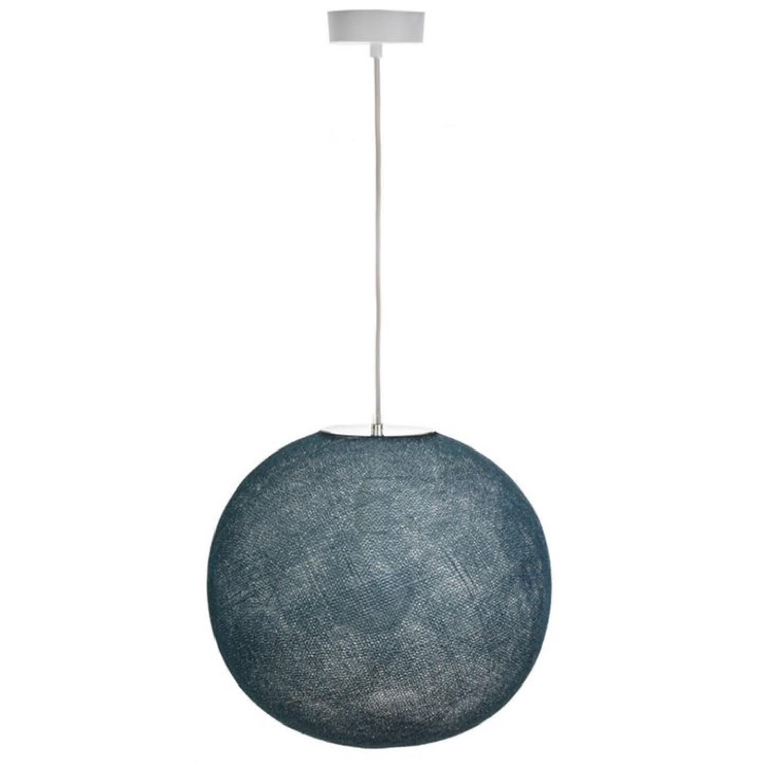 Globe bleu pétrole D36cm
