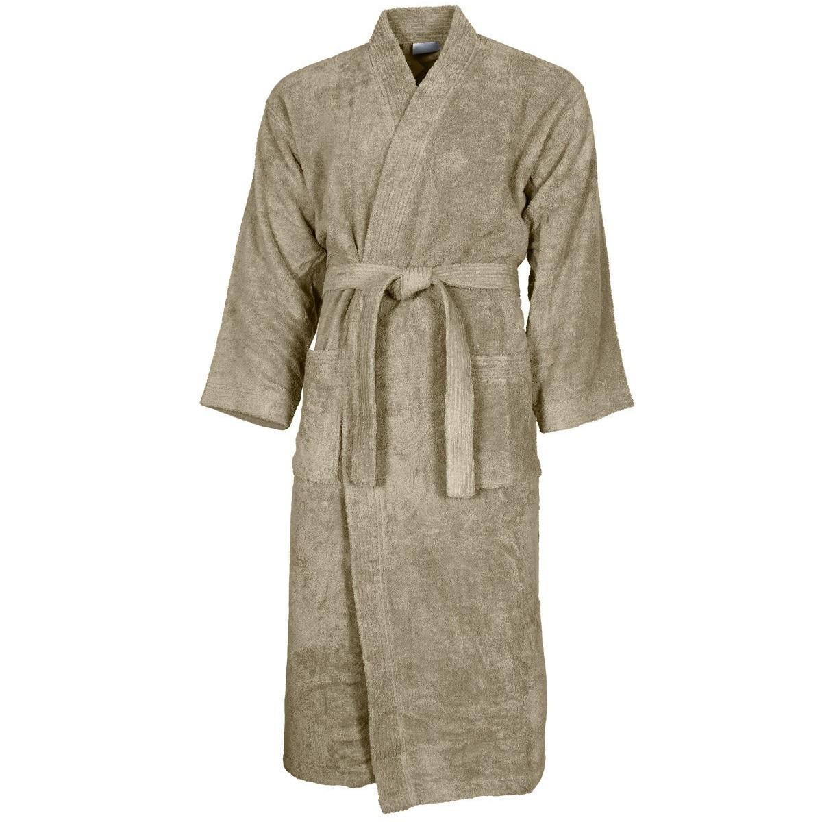 Peignoir col kimono Mastic XL