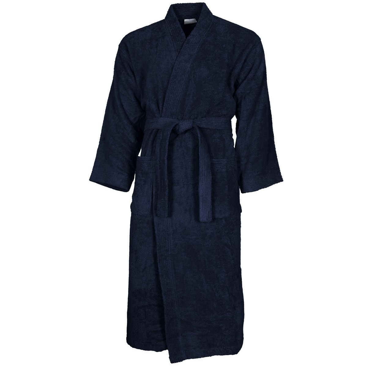 Peignoir col kimono Bleu Nuit XL