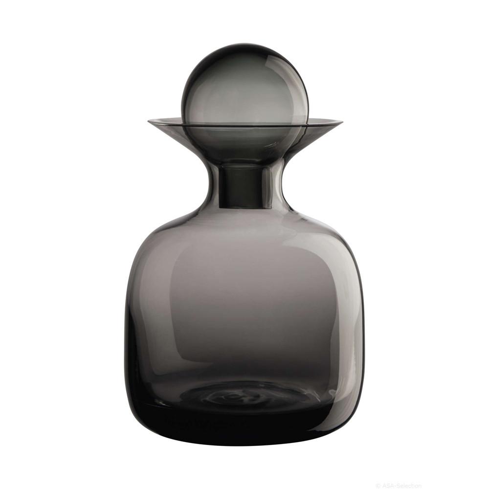 Carafe en verre fumé gris 1,5L