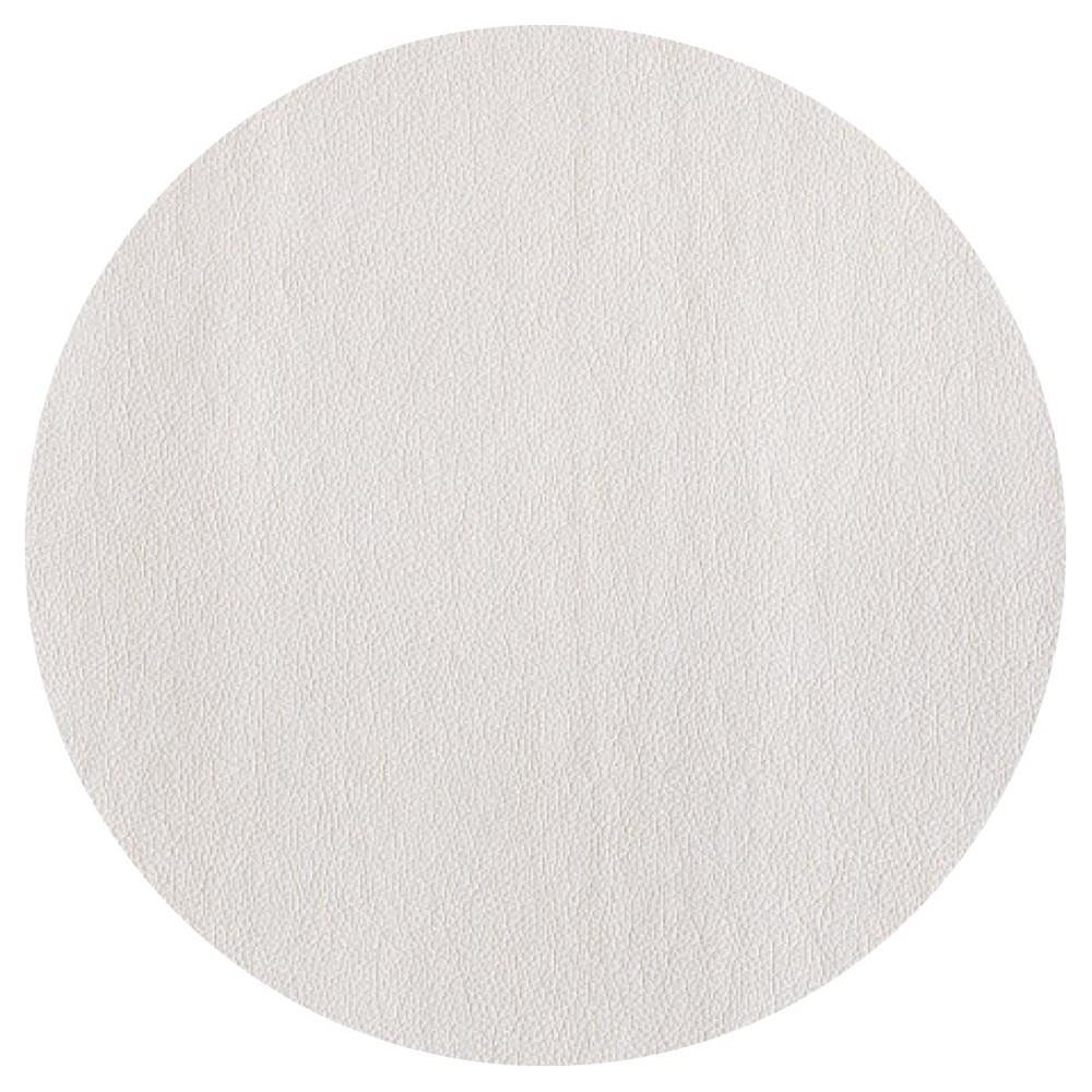 Set de table rond blanc D38