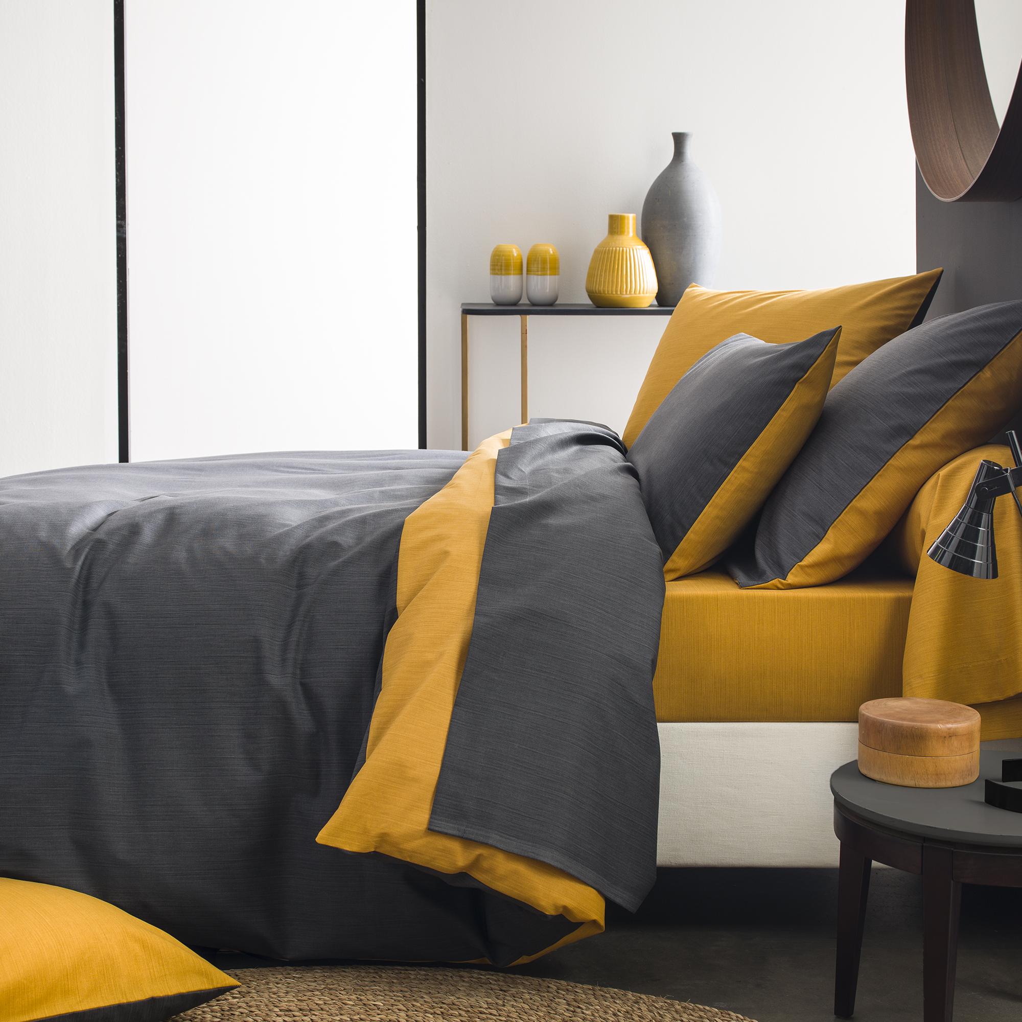 Parure bicolore en bambou gris 240x260