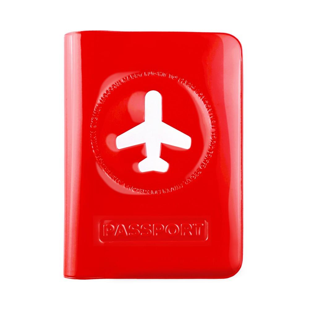 Protège passeport Happy Flight rouge
