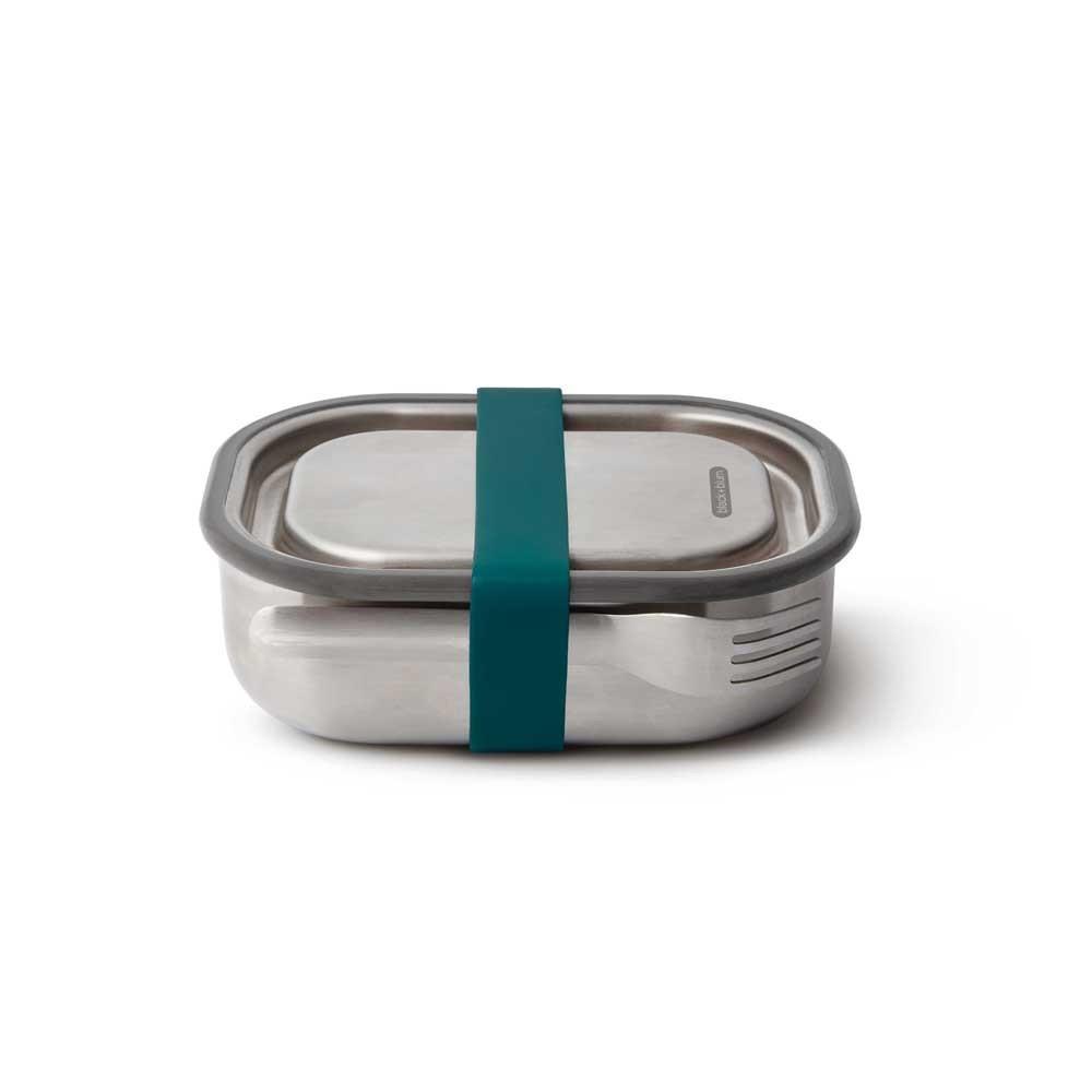 Mini Lunch box acier multifonctions bleu