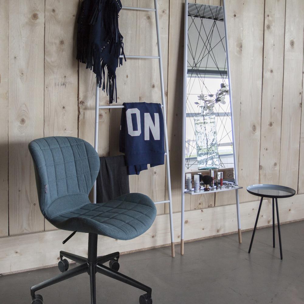 Chaise de bureau Confort bleu