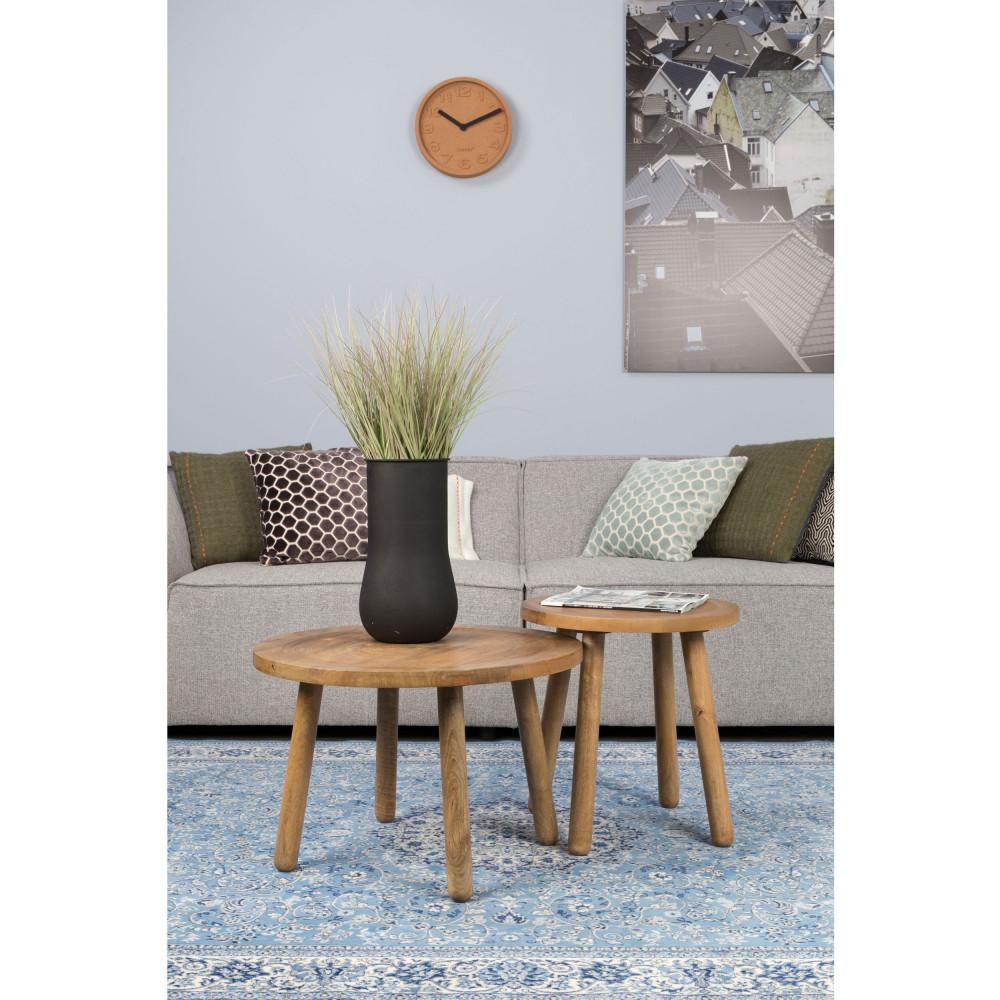 Table d'appoint ronde bois D43cm