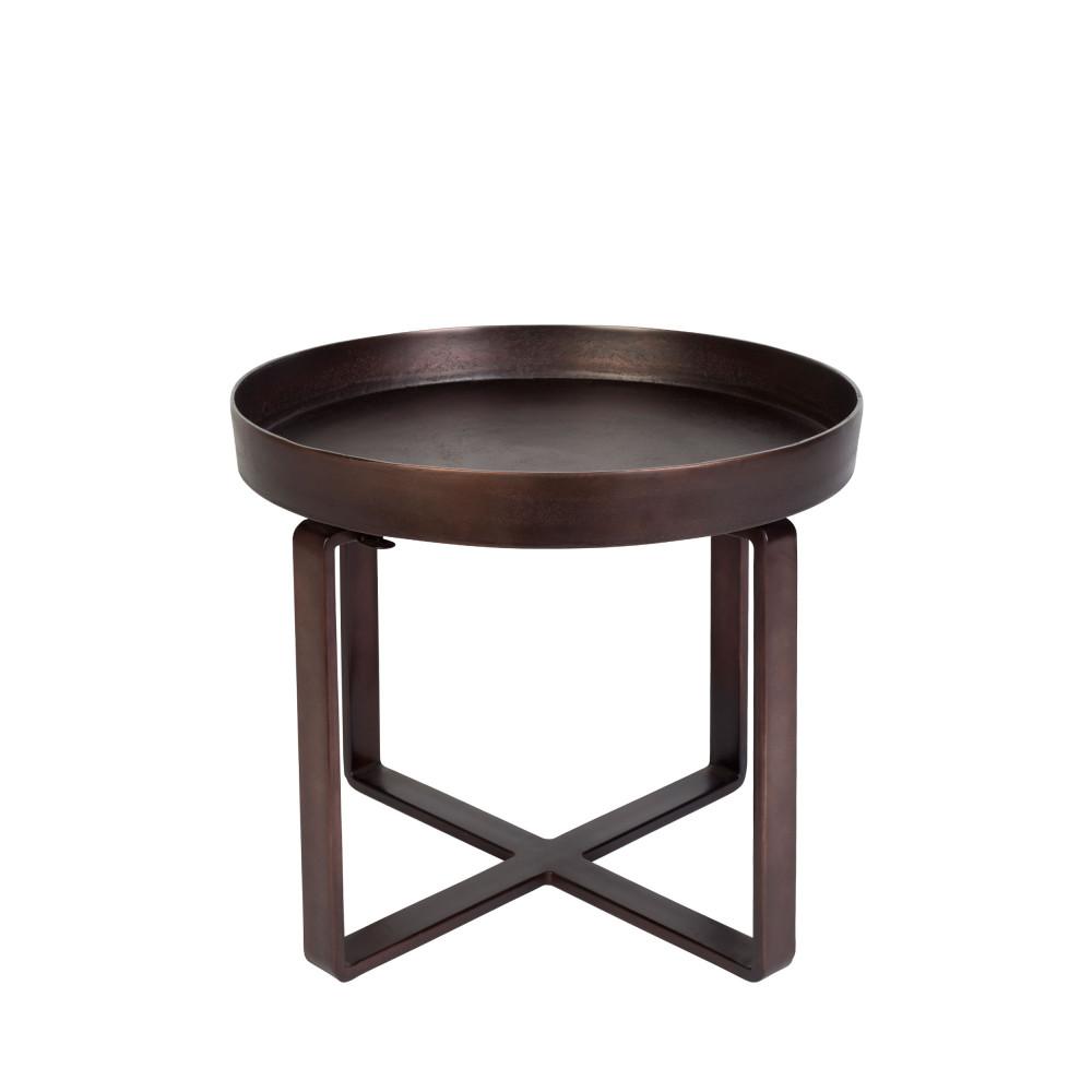 Table d'appoint en métal