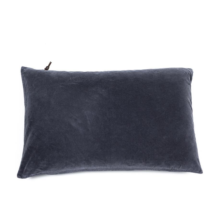 Lavage de velours Bleu pierre 40x60