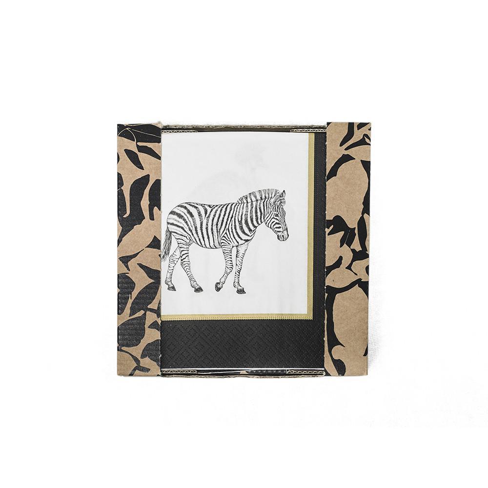 Serviettes en papier  Lin pur lavé Serengeti 17x17