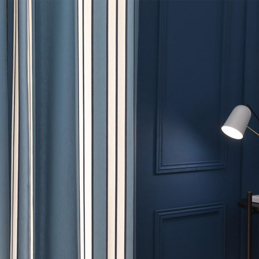 Rideau bleu 168x250
