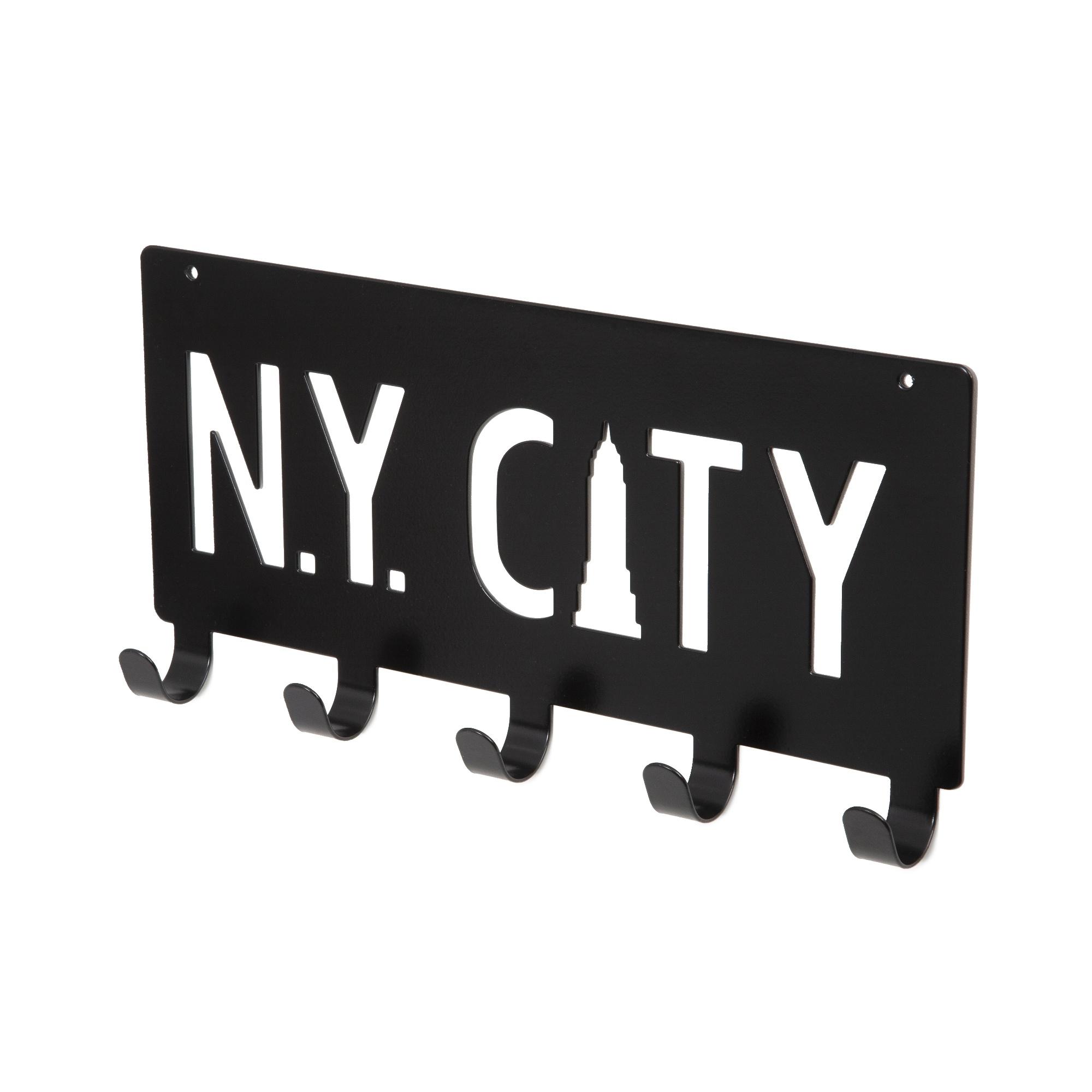 Patère de porte NYC L30cm