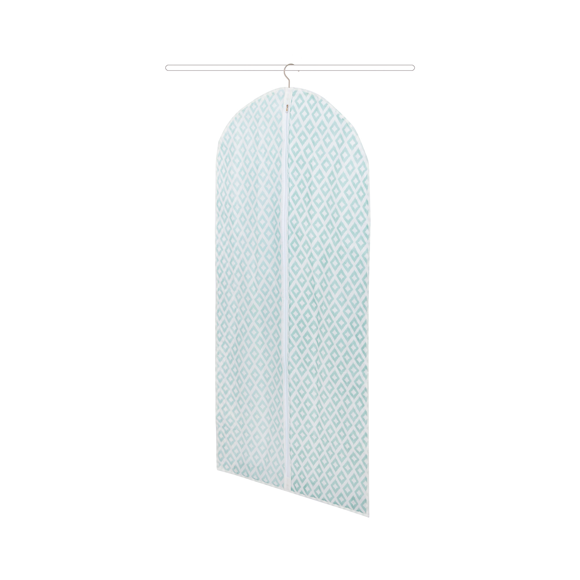 Housse pour vêtements bleue 60x137cm
