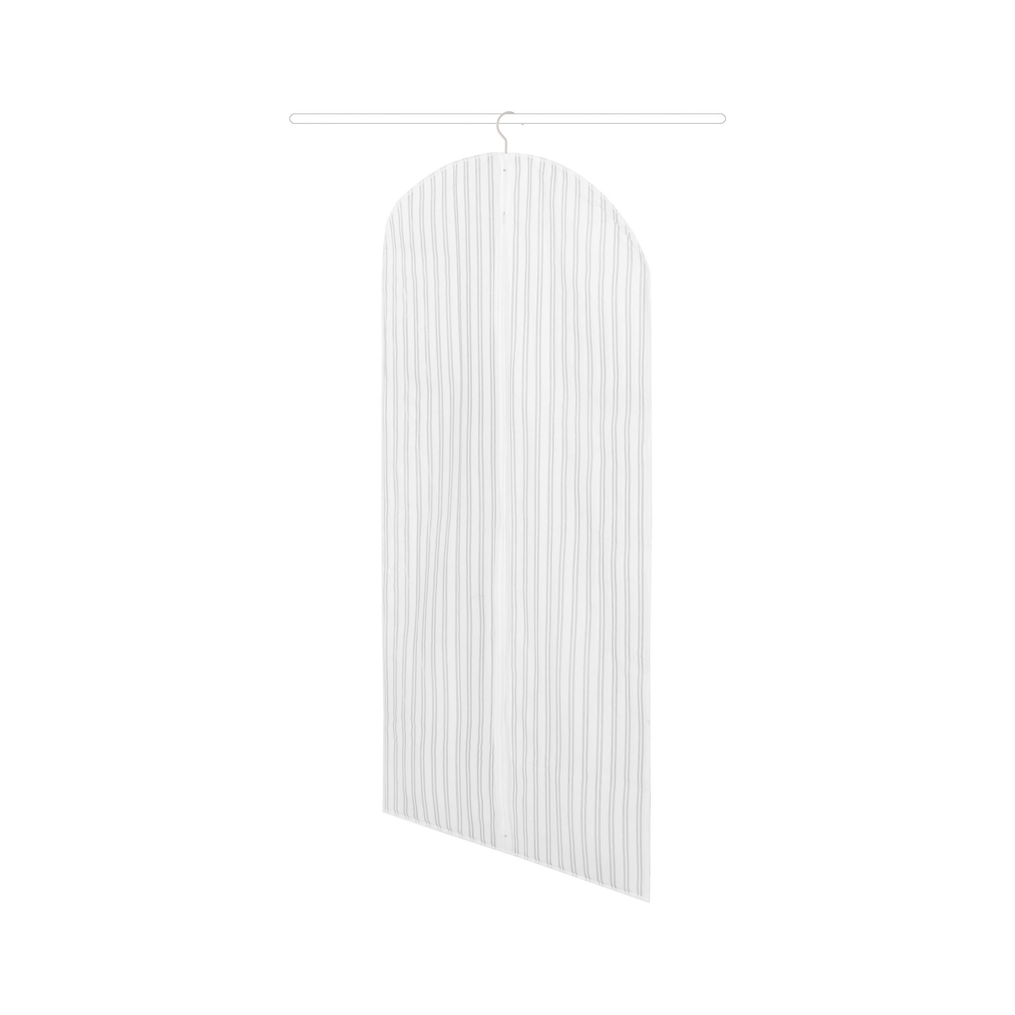 Housse pour vêtements à rayures 60x137cm