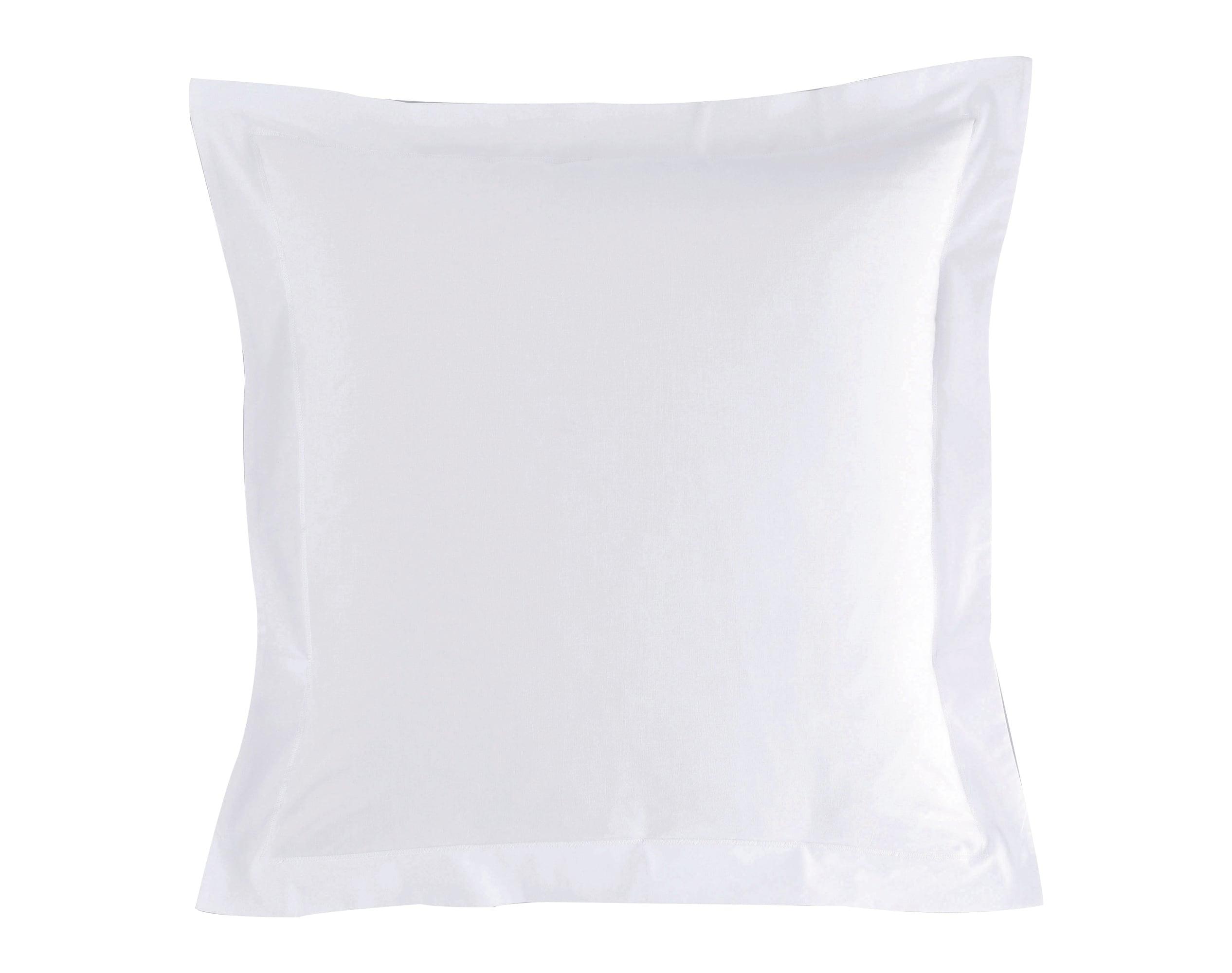 Taie d'oreiller 50x70 en coton blanc