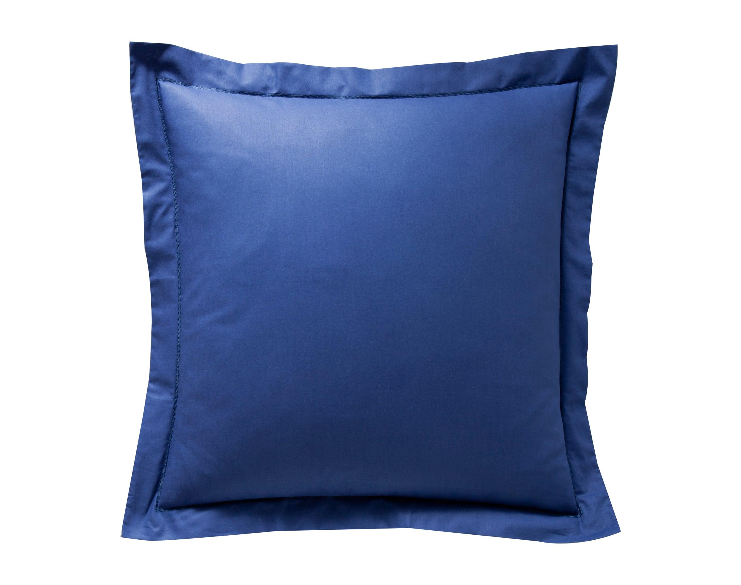 Taie d'oreiller 50x70 en coton bleu marine