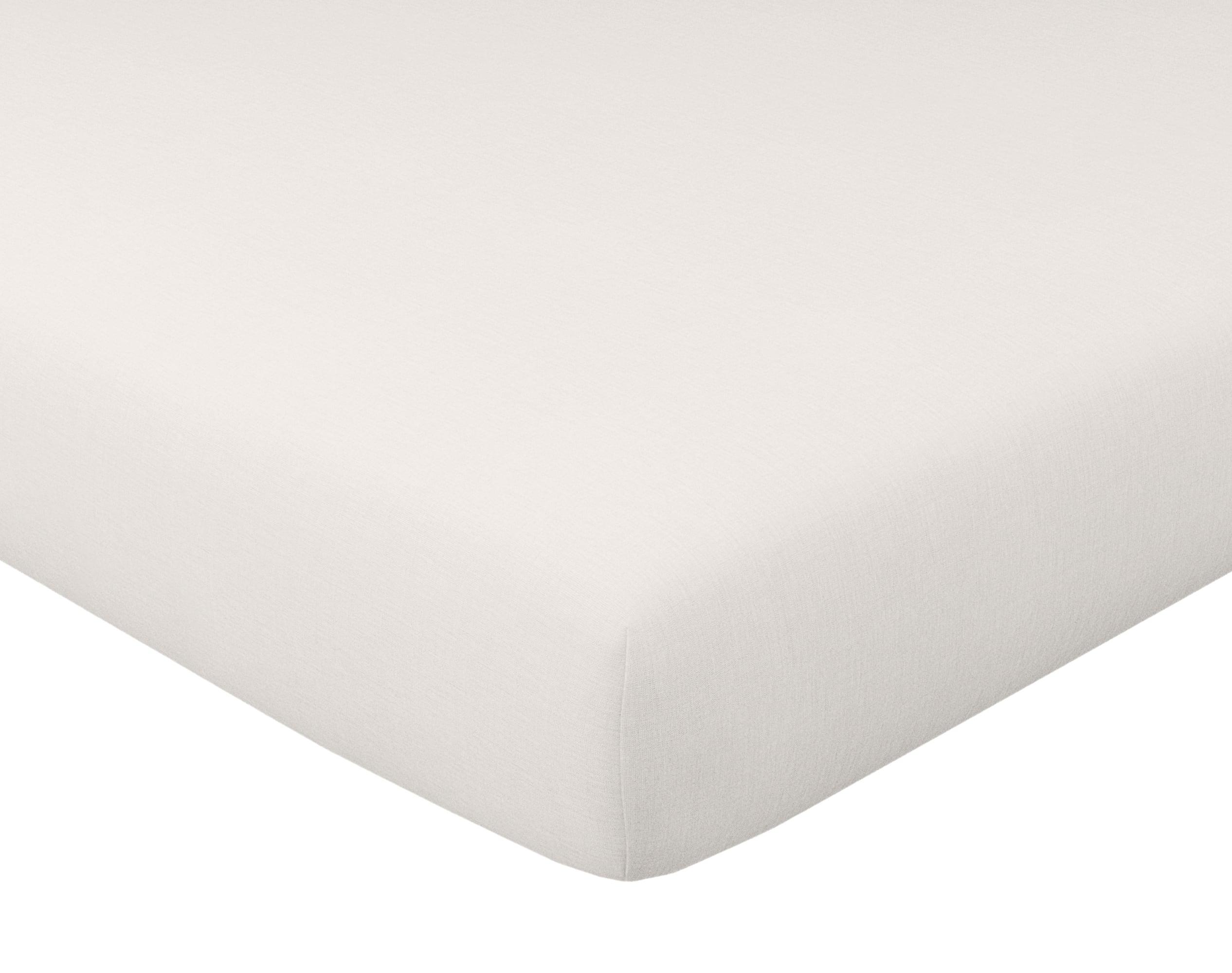 Housse de couette 140x200 en gaze de coton blanc