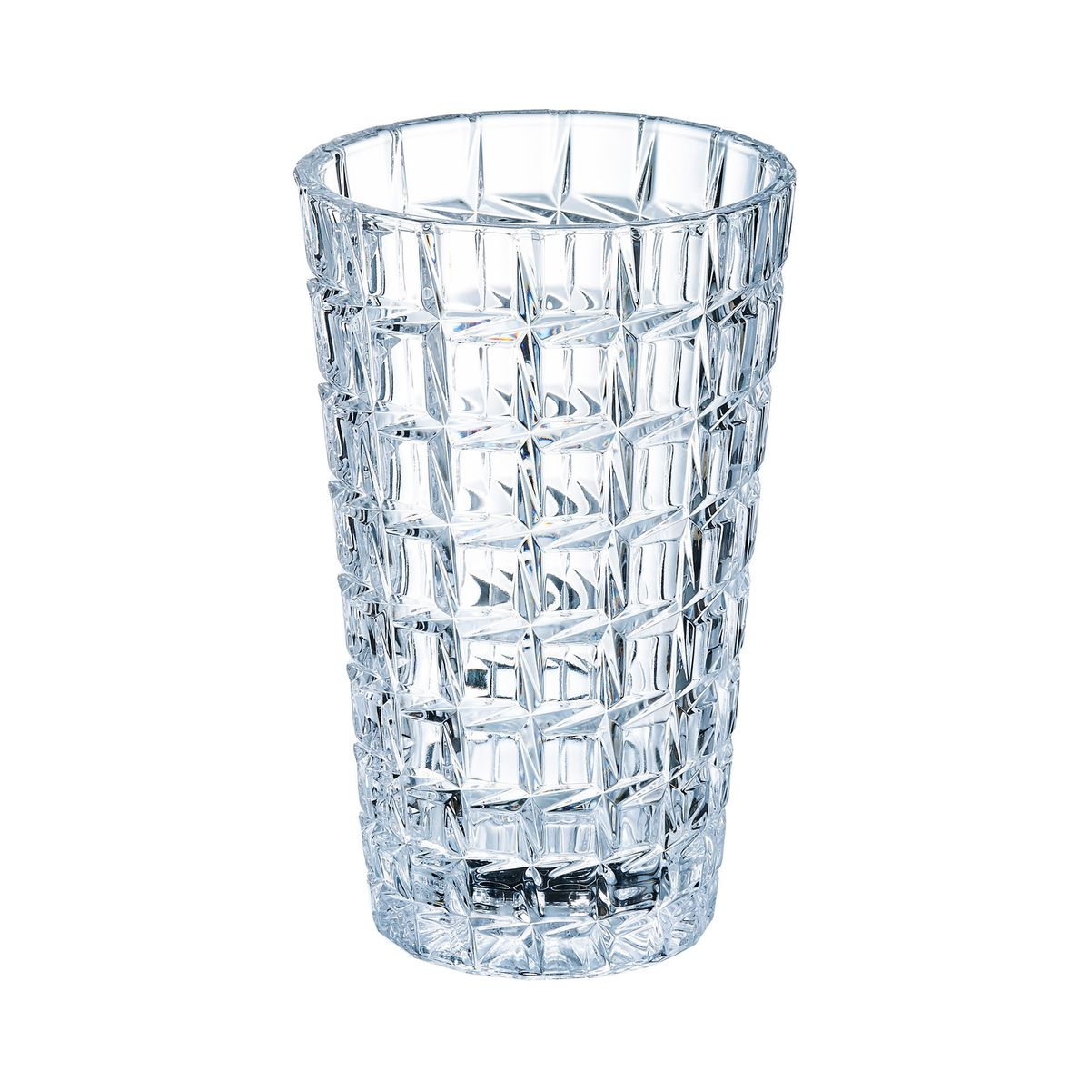 Vase en verre H27cm