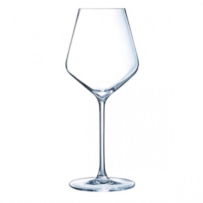 Verre à vin blanc 38cl en cristallin - Lot de 6