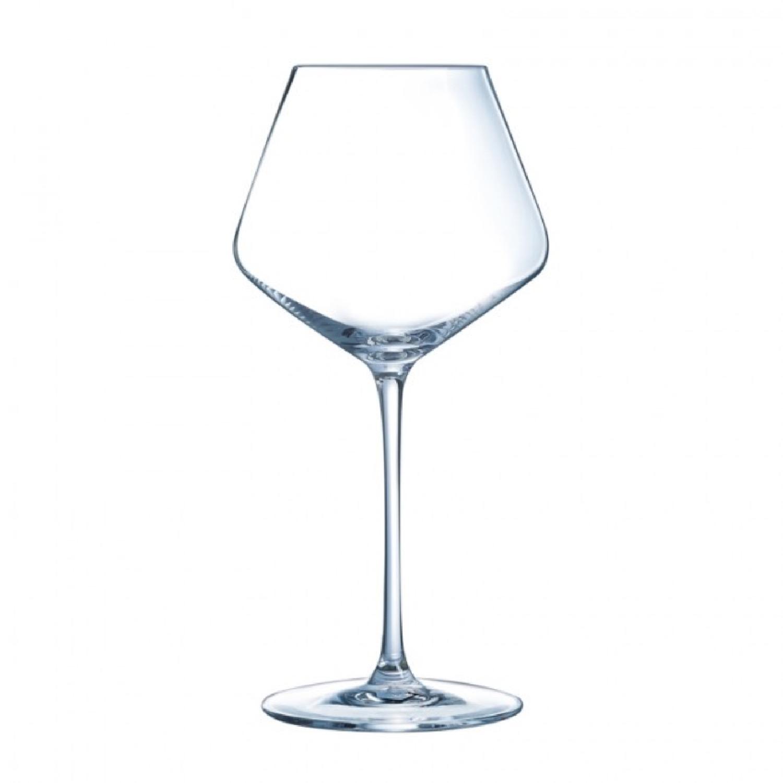 Verre à vin rouge 42cl en cristallin - Lot de 6