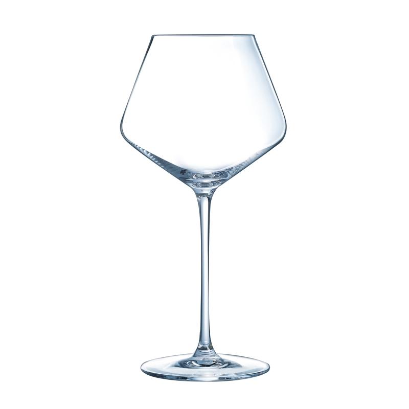 Verre à vin rouge 52cl en cristallin - Lot de 6