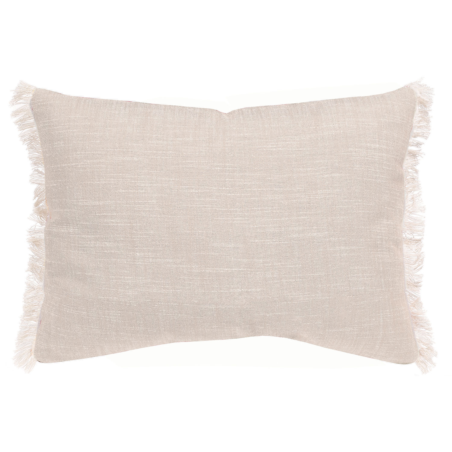 Coussin  en coton ficelle 30 x 50 (photo)