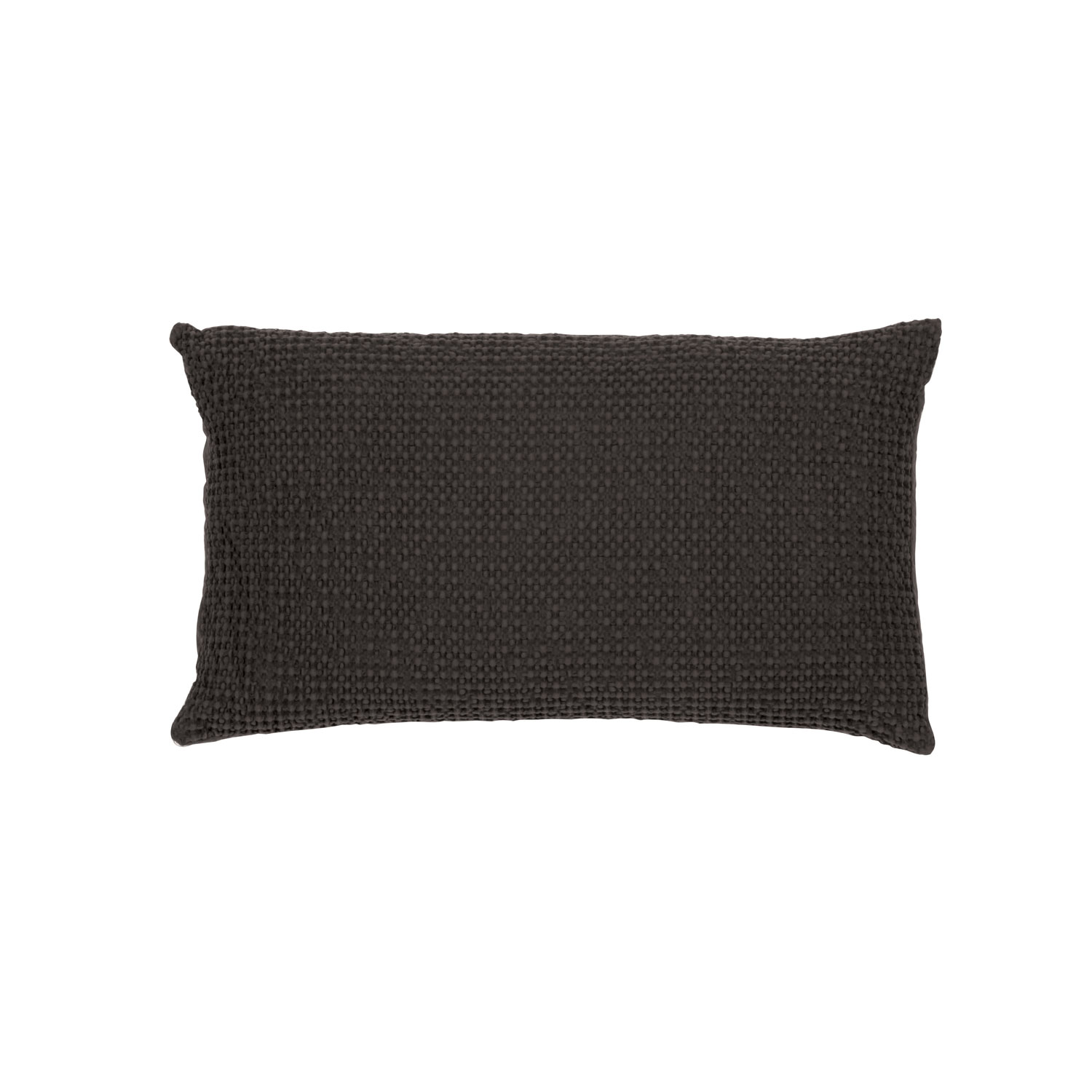 Coussin  en coton carbone 30 x 50 (photo)